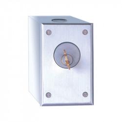 Camden CM-1000 Series Surface Mount Key Switch - Cast Aluminum Faceplate
