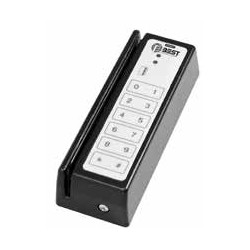 Best 31012OWBKOT Magnetic Card Reader, Dual Validation Stripe/Keypad