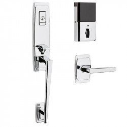 Baldwin 85396 Evolved Palm Springs 3/4 Escutcheon Handleset w/ L024 Lever