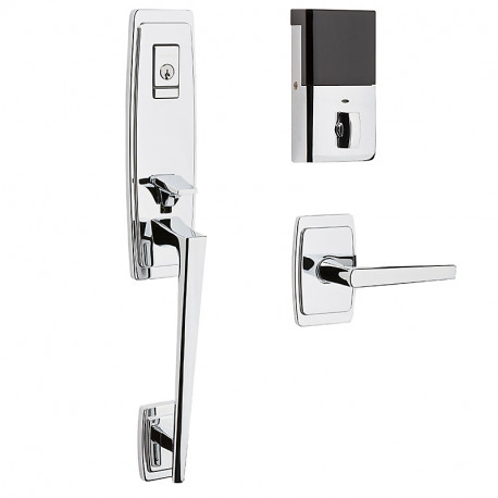 Baldwin Hardware 85396 Palm Springs Evolved 3/4 Escutcheon Handleset w/ L024 Lever