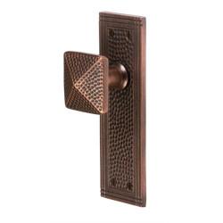 Copper Factory CF183 Solid Cast Brass Rectangular Passage Door Set