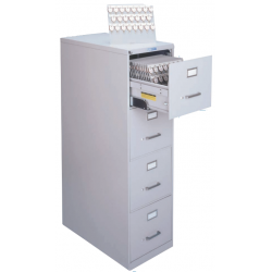 Lund Deluxe 1400 Line Four Drawer Key Cabinets, with Two Tag System