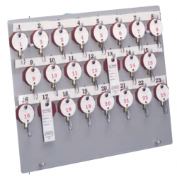 Lund Extra Key Panel for 1400 Line for Two Tag Key System