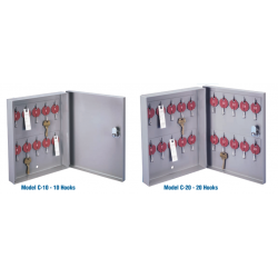 Lund Mini Wall Cabinet with One Tag System