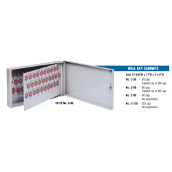 Lund Deluxe Wall Cabinet with One Tag Key System