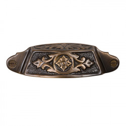 Brass Elegans BE-36 Solid Brass Sherwood Drawer Pull
