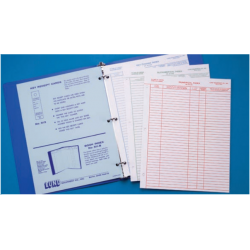 Lund Index Book with Vinyl Cover,