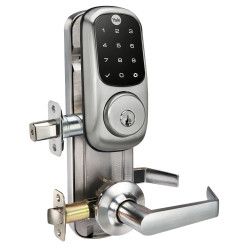 Yale YRC226 Assure Touchscreen Interconnected Lock, Satin Nickel