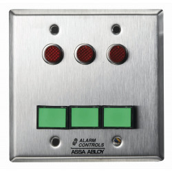 Alarm Controls SLP-3M Double Gang Monitoring/Control Station