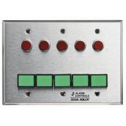 Alarm Controls SLP-5M Three Gang Monitoring/Control Station