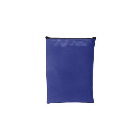 MMF 2344882C9 Vertical Zipper Wallet (8.5X12), Mariner Blue