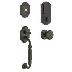 Baldwin 85305 Canterbury Evolved Sectional Handleset w 5152 lever or 5024 Knob