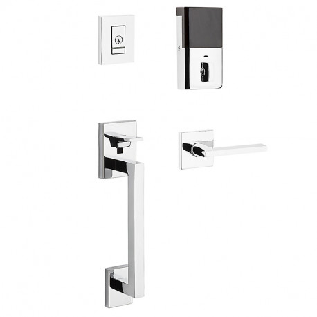 Baldwin Hardware 85390 Minneapolis Evolved Sectional Handleset w/ 5162 Lever