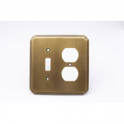 Colonial Bronze 6001-1T1D Switch Plate