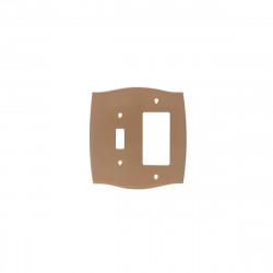 Colonial Bronze 6005-1G1T Single GFI/ Single Toggle Colonial Switch Plates