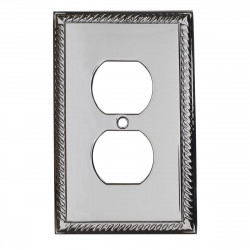 Colonial Bronze 6006-1D Single Duplex Rope Switch Plate
