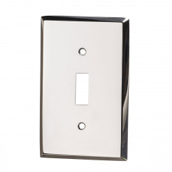 Colonial Bronze 6008-1T Single Toggle Square Bevel Switch Plate