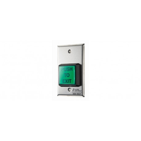 Alarm Controls Request to Exit Station with Built-in Adjustable 2-45 Second Timer