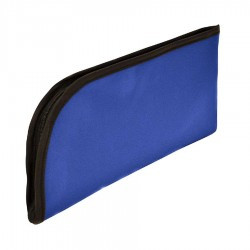 MMF 2340501C9 Laminated Nylon Top Side Zipper Wallet (11.5X6)