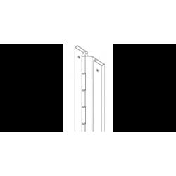 """Markar FS321 Full Surface 3/4"""" Offset Pin & Barrel Hinge"""