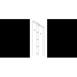 """Markar FS201 Full Surface 1/8"""" Inset Pin & Barrel Hinge"""
