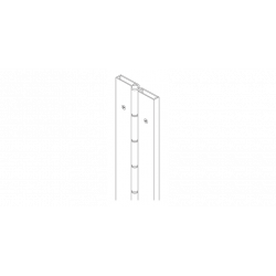 Markar FS202 Full Surface Flush Mount Pin & Barrel Hinge