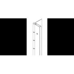 Markar HS103 Half Surface Pin and Barrel Hinge