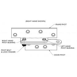 Markar B1923 Reinforcing Pivot Hinge