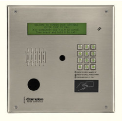 Camden CV-TAC400M Master Directory, 4 Line Electronic Display w/ Modem for Telephone Entry System Access Panel