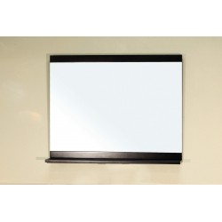 """Bellaterra 202140 Mirror - Wood - Dark Espresso - 35.4x4.3x29.5"""""""