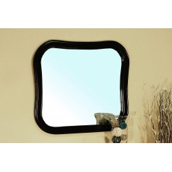 """Bellaterra 203037 Solid Wood Frame Mirror - Espresso - 34.5x1x30.25"""""""