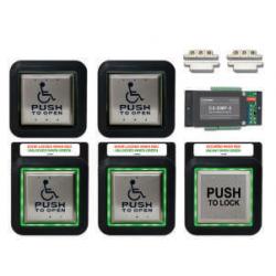 Camden CX-WC14XFM/SM Restroom Control Kit, Two Door Restroom System