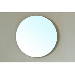 """Bellaterra 203116 Round Mirror - 22.1x2x22.1"""""""