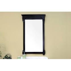 "Bellaterra 205024 24 In Solid Wood Frame Mirror, Espresso - 24x2.4x41.5"""