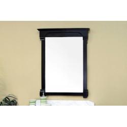 "Bellaterra 205042 36 In Solid Wood Frame Mirror - Espresso - 36x2.4x41.5"""