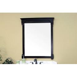 "Bellaterra 205050 42 In Solid Wood Frame Mirror - Espresso - 42x2.4x41.5"""