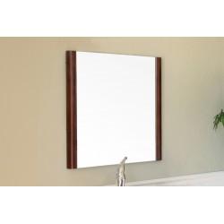 "Bellaterra 804347 25.6 In Mirror - Wood - Walnut - 25.6x1x26"""