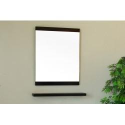"Bellaterra 804353 23.6 In Mirror - Black - Wood - 23.6x1x31.5"""