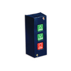 Camden CI-PBU3 Surface Mount, 3 Button Open/Close/Stop, 5 Amp @ 30v Dc, Interior Control Station