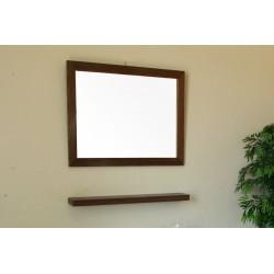 """Bellaterra 804357 31.5 In Mirror - Dark Walnut - Wood - 31.5"""""""