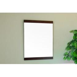"Bellaterra 804366 23.6 In Mirror - Walnut - Wood - 23.6x1x31.5"""