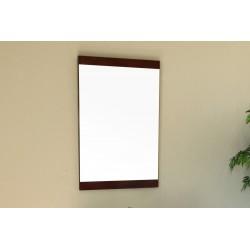 "Bellaterra 804381 19.7 In Mirror - Dark Walnut - Wood - 19.7x1x31.5"""