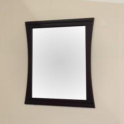 "Bellaterra 604023 32 In Wood Frame Mirror - 32x37.5x1"""