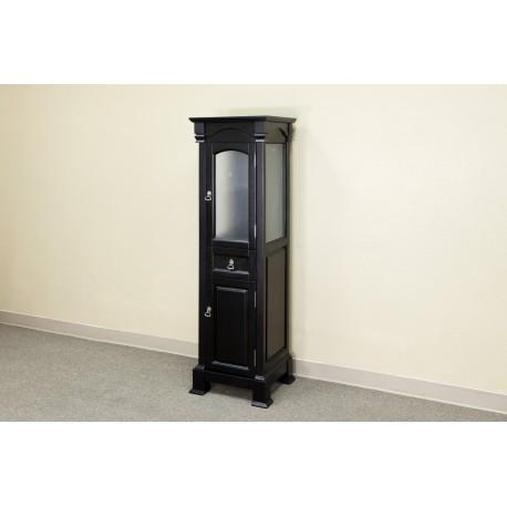 "Bellaterra 205065 Linen Cabinet-Wood-Espresso - 18x16.3x65"""