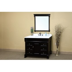 Bellaterra 205050 50 In Single Sink Vanity-Wood-Espresso - 50x22.5x35.5""