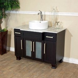 Bellaterra 604023A 40 In Single Sink Vanity - 40x23x35.25""