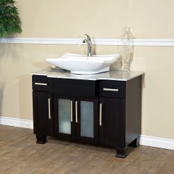 Bellaterra 604023B 40 In Single Sink Vanity - 40x23x33.5""
