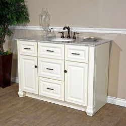 Bellaterra 605022 50 In Single Sink Vanity - 50x22x36""