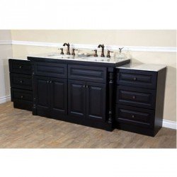 Bellaterra 605522C 93 In Double Sink Vanity - 93x22x36""