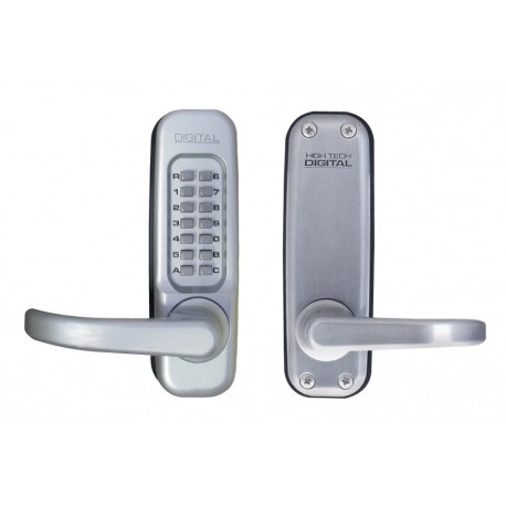 Lockey 1150-DC Left Hand Mechanical Keyless Heavy Duty Lever Lock w/ Passage Function & Double Sided Combination